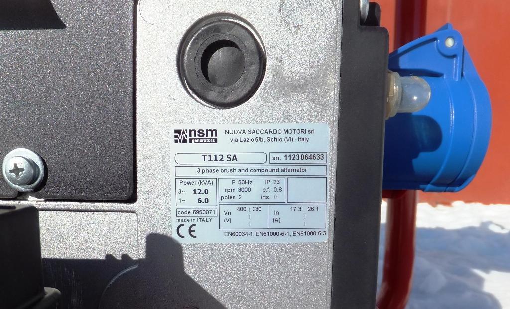 Маркировка генератора Вепрь АБП 10 230 ВХ-БСГ9