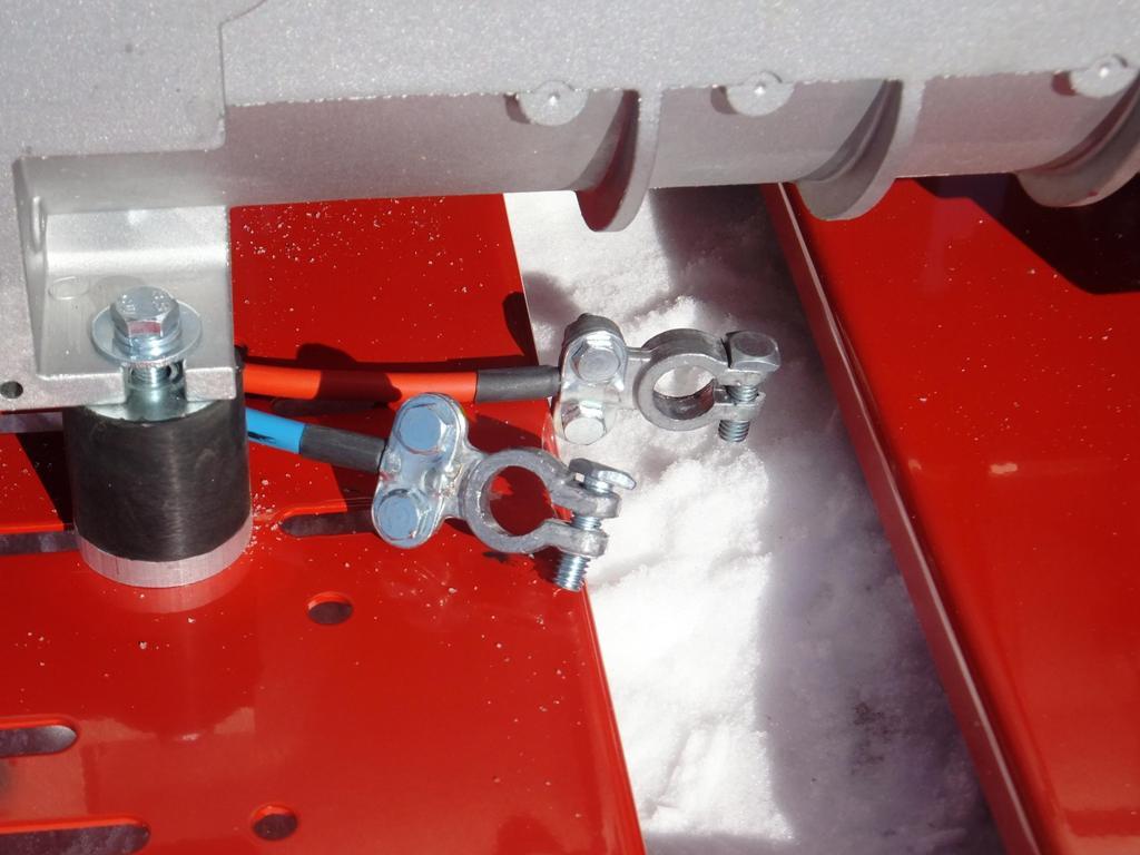 Клеммы подключения аккумулятора Вепрь АБП 10 230 ВХ-БСГ9