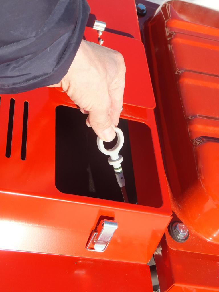 Масляный щуп двигателя генератора Вепрь АБП 10 230 ВХ-БСГ9